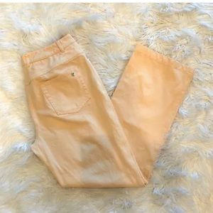 ST JOHN SPORT Peach Classic Straight Leg Jeans
